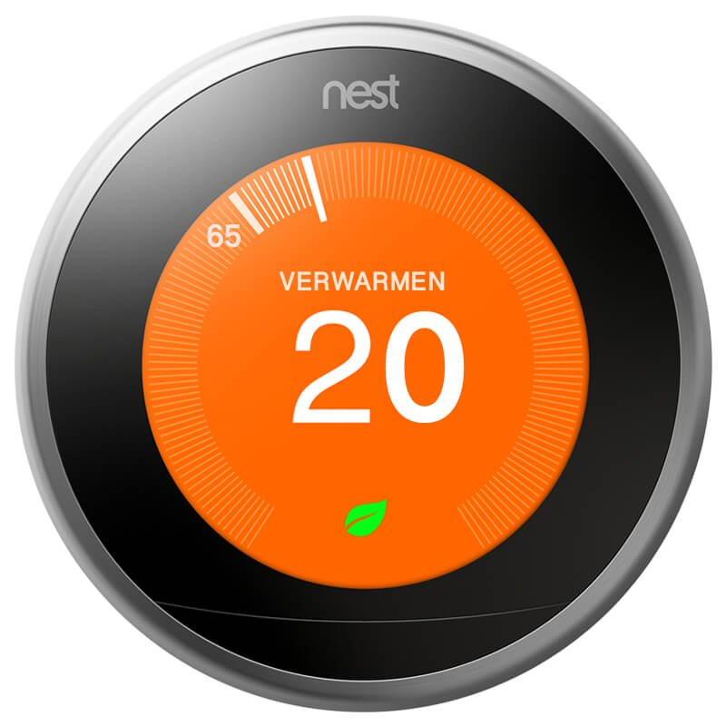 Nest Learning Thermostat 3rd Gen + Installatieservice